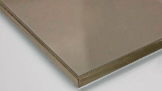 Стекло планибель бронза М1 AGC 4мм